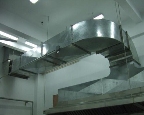 工厂食堂排烟管道安装