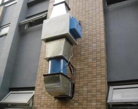 宾馆通风排烟管道安装